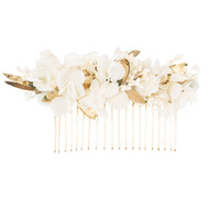 Clothes accessories Women Hats Betty London LEONIE White / Gold