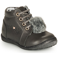 Shoes Girl Mid boots Catimini CALISTA Grey