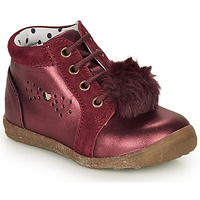 Shoes Girl Mid boots Catimini CALISTA Bordeaux