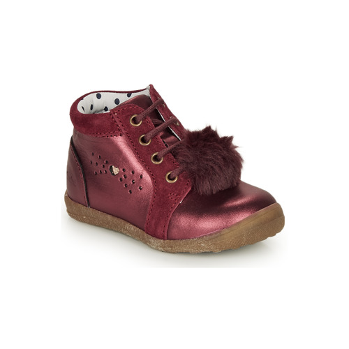 Shoes Girl Mid boots Catimini CALISTA Bordeaux