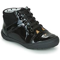 Shoes Girl Hi top trainers Catimini CIBELLE Black