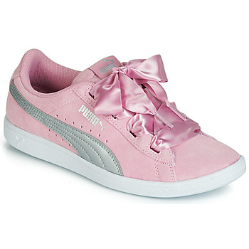 Shoes Women Low top trainers Puma JR PUMA VIKKY RIBBON.LILAC Pink