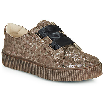 Shoes Girl Low top trainers Catimini CAVANILLE Brown