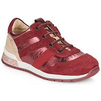 Shoes Girl Low top trainers Catimini CAMELINE Red
