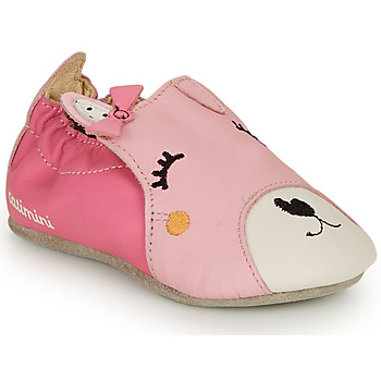 Shoes Girl Slippers Catimini CAPUCINE Vte / Fushia-pink