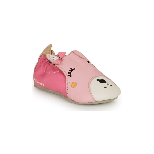 Shoes Girl Slippers Catimini CAPUCINE Pink