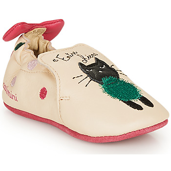 Shoes Girl Slippers Catimini CALICETTE Vte / Sable