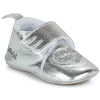 Shoes Girl Slippers Catimini CELESTE Vte / Silver