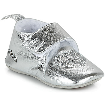 Shoes Girl Slippers Catimini CELESTE Silver