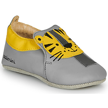 Shoes Boy Slippers Catimini CALINOU Grey / Yellow