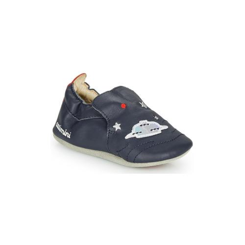 Shoes Boy Slippers Catimini CASPARO Marine