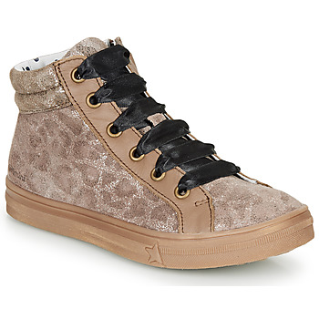 Shoes Girl Hi top trainers Catimini CALENDULE Leopard