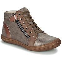 Shoes Girl Hi top trainers GBB RACHIDA Brown