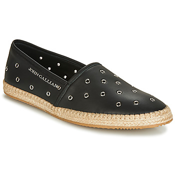 Shoes Men Espadrilles John Galliano 6706 Black