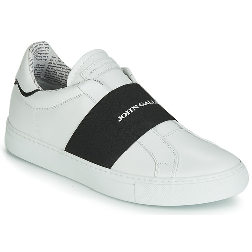 Shoes Men Slip-ons John Galliano 6730 White