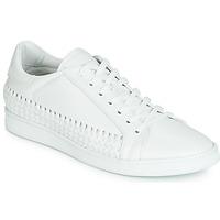 Shoes Men Low top trainers John Galliano 6712 White