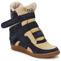 Shoes Women Hi top trainers Buffalo GINGERWA MARINE / BEIGE