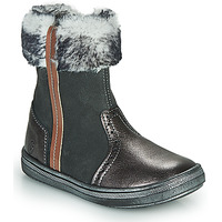 Shoes Girl Mid boots GBB OZOE Grey