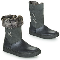 Shoes Girl Mid boots GBB OLINETTE Grey