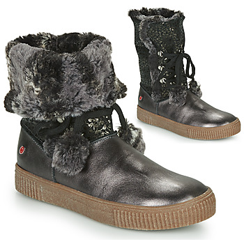 Shoes Girl Mid boots GBB NOUSTIK Black