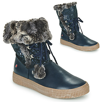 Shoes Girl Mid boots GBB NOUSTIK Marine
