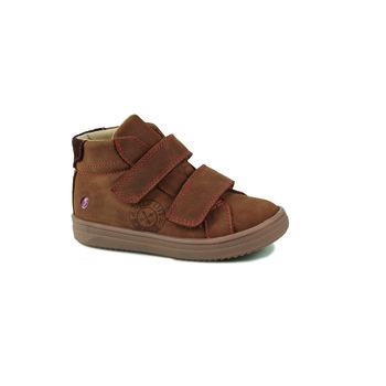 Shoes Boy Hi top trainers GBB NAZAIRE Brown