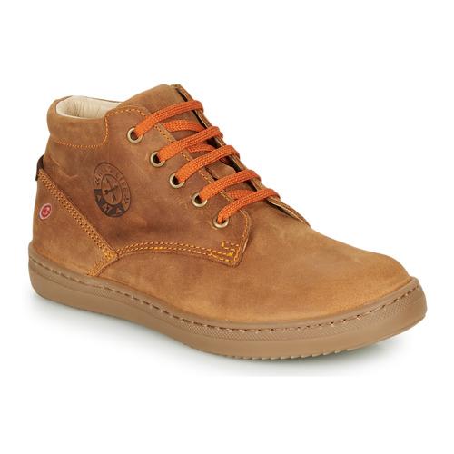 Shoes Boy Hi top trainers GBB NINO Brown