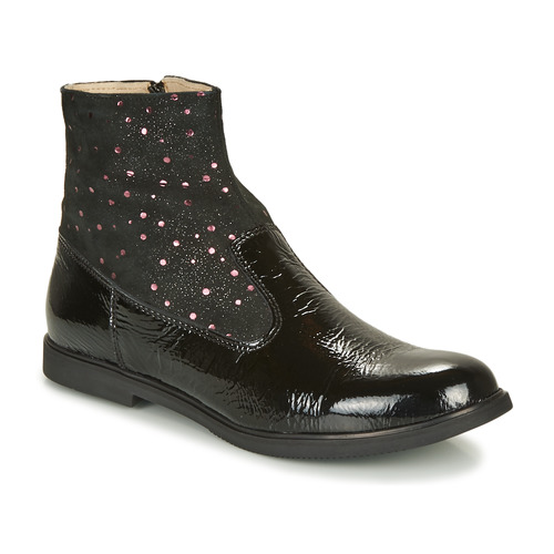 Shoes Girl Mid boots GBB OSHINO Black