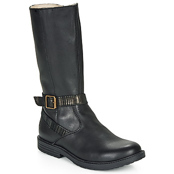 Shoes Girl High boots GBB OKINDI Black