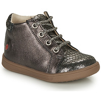 Shoes Girl Hi top trainers GBB FAMIA Grey / Silver