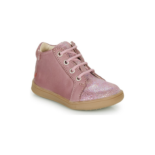 Shoes Girl Hi top trainers GBB FAMIA Old / Pink