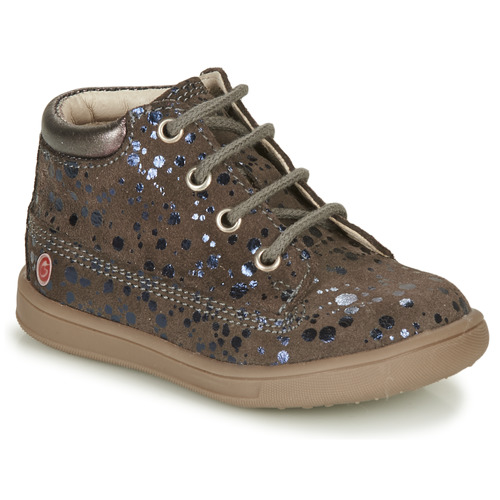 Shoes Girl Hi top trainers GBB NINON Taupe
