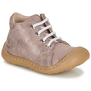 Shoes Girl Hi top trainers GBB VEDOFA Pink