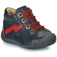Shoes Boy Mid boots GBB ORAM Marine / Red