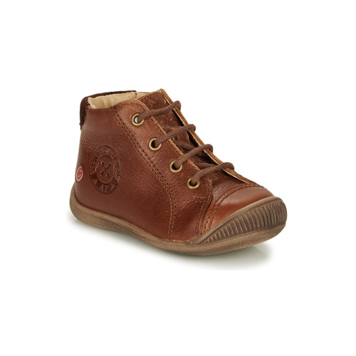Shoes Boy Hi top trainers GBB NOE Brown