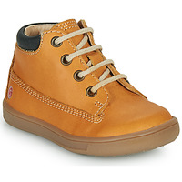 Shoes Boy Hi top trainers GBB NORMAN Ocre tan