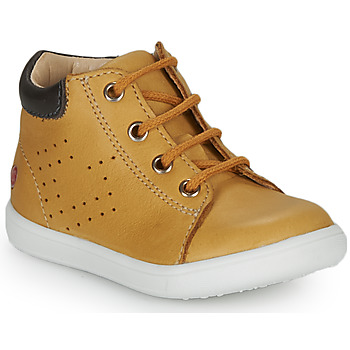 Shoes Boy Hi top trainers GBB FOLLIO Ocre tan