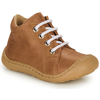 Shoes Boy Hi top trainers GBB FREDDO Cognac