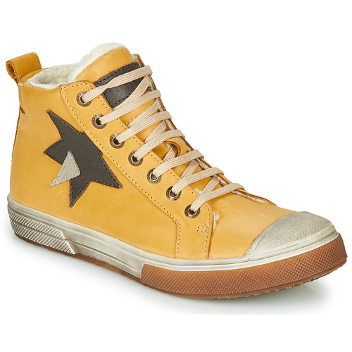 Shoes Boy Hi top trainers GBB OCALIAN Yellow
