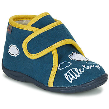 Shoes Boy Slippers GBB OKANDI Blue / Yellow