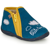 Shoes Boy Slippers GBB OUBIRO Blue / Yellow