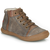 Shoes Girl Hi top trainers GBB OUNA Taupe