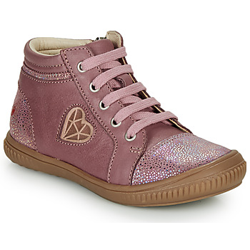 Shoes Girl Hi top trainers GBB OTANA Old / Pink