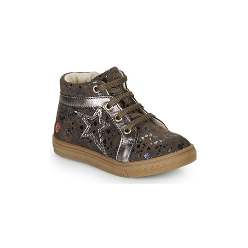 Shoes Girl Hi top trainers GBB NAVETTE Taupe