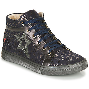 Shoes Girl Hi top trainers GBB NAVETTE Marine