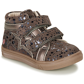 Shoes Girl Hi top trainers GBB OHANE Brown