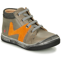 Shoes Boy Hi top trainers GBB OLINOU Grey