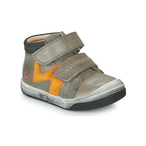 Shoes Boy Hi top trainers GBB OGROU Grey