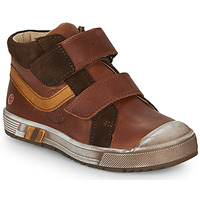 Shoes Boy Hi top trainers GBB OMALLO Brown