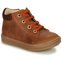 Shoes Boy Hi top trainers GBB NONELLE Brown